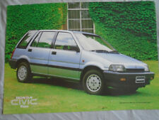 Honda Civic Wagon brochure Jan 1985 Australian market
