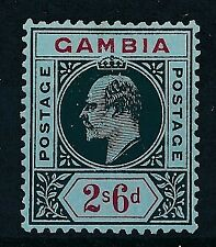 [52990] Gambia 1909 good MH Very Fine stamp $40