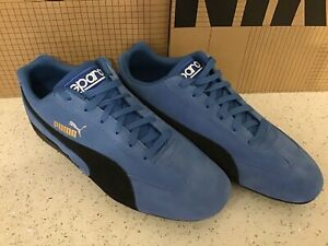 PUMA Speedcat OG Sparco Mens Sneaker Shoes Blue and Black Size 9.5 US - NEW!!!
