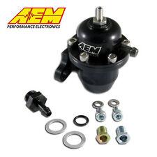 AEM 25-301bk for Honda Black High Volume Adjustable Fuel Pressure Regulator