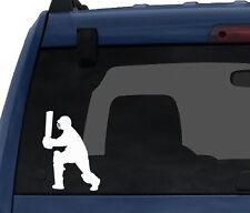 Cricket Player #1 - Batter Batsman Shot Score Wicket - Car Tablet Vinyl Decal