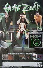 """Enuff Z' Nuff """"10 - There Goes My Heart"""" U.S. Promo Poster - Chicago Rocks!"""