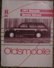 1991 Oldsmobile Bravada Shop Service Manual 91