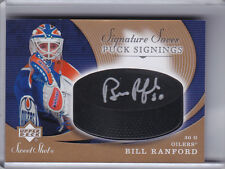 2007-08 UPPER DECK SWEET SHOT #SSP-BI BILL RANFORD AUTO. EDMONTON OILERS