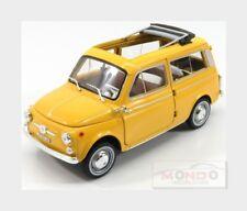 Fiat 500 Giardiniera 1962 Yellow NOREV 1:18 NV187724