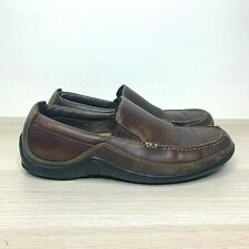 Cole Haan Tucker Venetian Leather Loafer French Roast Brown Men's US Size 8.5 M
