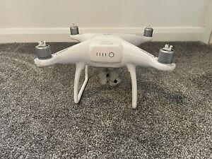 DJI Phantom 4 Aerial UAV Drone Quadcopter - White NO CONTROLLER