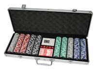 kit 500 Poker Chips 11,5 Grammi Chips DELUXE valigetta alluminio spedizione GLS