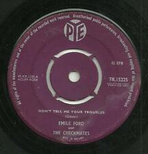 EMILE FORD & THE CHECKMATES - DON'T TELL ME YOUR TROUBLES - 50s/60s ROCK'N'ROLL