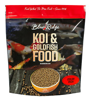 COLOR RICH FORMULA KOI FOOD from Blue Ridge Koi for live koi and goldfish NDK
