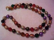 "JOAN RIVERS Colorburst Bead Adjustable Necklace 34"""
