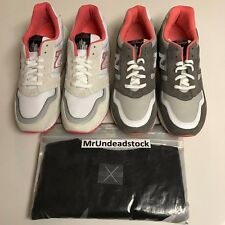 New Balance Jeff Staple Pigeon White & Grey M575 w/ Matching Shirt Signed Sz 11