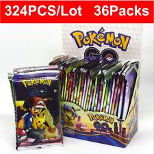 324pcs 36 packs Pokemon Go Card lot Rare Tcg Booster Box English Edition Break#