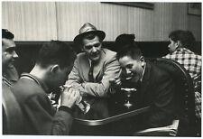 Original Alfred Statler Candid New York City Photograph Boys at Soda Fountain