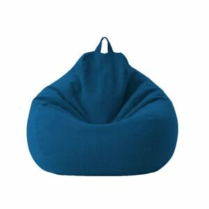 Lazy Sofa Cover Extra Large Bean Bag Chair Cover (No Filler) for kids and