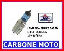 LAMPADA BILUCE 12V 35/35W BA20D ALOGENA EFFETTO XENON BLUE