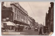 Newcastle, Northumberland St, RP PPC, Shows Austin 7, LNER Parcels Wagon & More