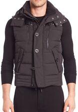 900$ Black Hooded Ralph Lauren Black Label Hooded Down Vest Size XL