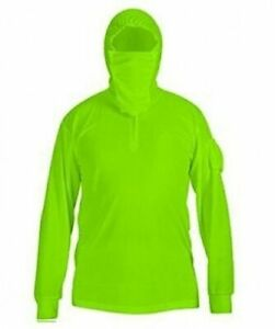 Polyester Mens Fishing Sun Shirt Quick Dry Breathable Hooded Sunproof multi-size