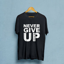 Never Give Up Mo Salah Men's T-Shirts S to 2Xl