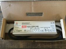 MEAN WELL HLG-120H-24B 24V 5A LED Driver Power Supply 120W BRAND NEW