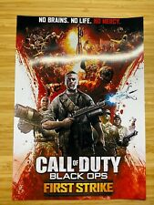 Call Of Duty: Black Ops Zombies First Strike Poster A4 Print 170gsm Glossy