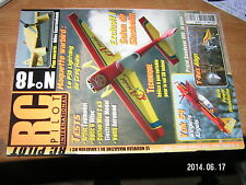 RC Pilot n°18 plan encarte Miles Sparrowhawk / Optic 6 Yak 54 T-Rex