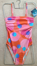 AguaLoca Pink Swimsuit UK12 New with tags, removealble + adjustable straps