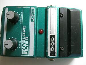 Vintage DOD FX25 Envelope Filter Guitar Effect Pedal USA