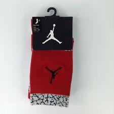 Jordan Jumpman Kids High Crew Performance Athletic Red Socks Size 10C-3Y NEW