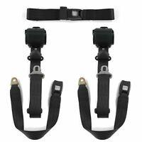 1973 - 1987  Standard 3pt BK Retractable Bench Seat Belt Kit 3 Belts Squarebody