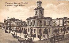 bg19050 Poland Warszawa Railway station tramway
