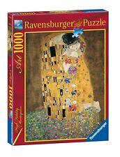 RAVENSBURGER PUZZLE GUSTAV KLIMT IL BACIO 1000 PEZZI  ART 15743