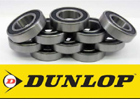 HIGH QUALITY DUNLOP 6200 - 6209 2RS RUBBER SEALED BALL BEARINGS PACK OF 10