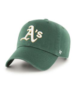 Oakland Athletics 47 Brand Green Clean Up Adjustable Road Field Cotton Hat Cap
