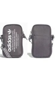 adidas Originals Unisex Grey NMD Pouch Shoulder Sport Bag   *NEW