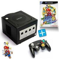 Nintendo GameCube - Konsole #schwarz + Super Mario Sunshine + Controller + Zub.