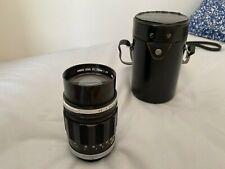 Canon FL 135mm f2.5 Lens