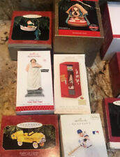 Lot of 19 HALLMARK Keepsake 5 OthersChristmas Ornaments 24 Total Vintage