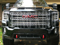 20-2021 GMC Sierra 2500 3500 HD chrome grille insert mesh grill overlay SLT AT4