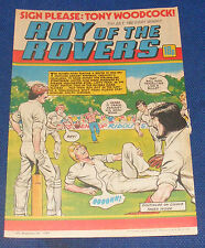 ROY OF THE ROVERS COMIC 31ST JULY 1982 TONY WOODCOCK OF ARSENAL