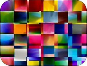 Colours Glass Worktop Saver Kitchen Board - Large - 50 x 40cm