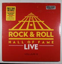 ROCK & ROLL HALL OF FAME LIVE Vol. 3 NEW B&W COLORED VINYL/Allman Bros/E Clapton