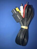 OFFICIAL ORIGINAL OEM Super Nintendo N64 Gamecube SNES AV RCA Video Cable