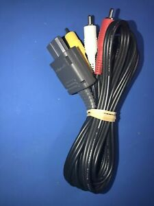 OFFICIAL ORIGINAL OEM Super Nintendo N64 Gamecube SNES AV RCA Video Cable