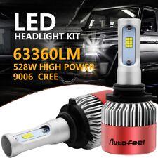 9006 HB4 528W 63360LM CREE Car LED Headlight Kit Low Beam Bulbs Fog Lamp 6000K