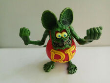 "4"" Red RAT FINK  Big ""Daddy"" Ed  Roth Action Figure No Box"