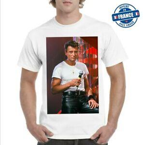 Tee-shirt Johnny Hallyday rock