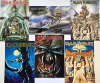 IRON MAIDEN Set of 6 Postcards Official Rock Merchandise