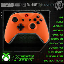Xbox One Rapid Fire Manette-Best mod on eBay! Soft Touch orange-red DEL